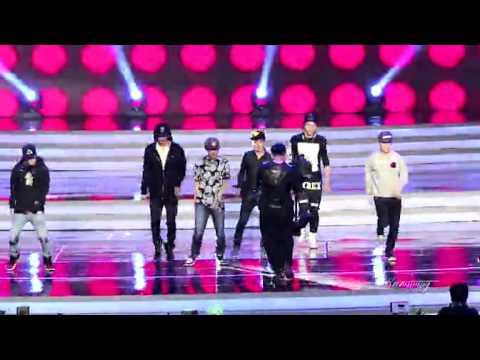 20140108 EXO M growl rehearsal