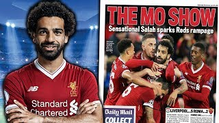 Liverpool 5 - 2 Roma   Can Mohamed Salah Win The Ballon d'Or?!   #UCLReview