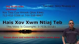 Jerry Xov Xwm Thoob Ntiaj Teb ( Hmong World News) 1/16/19
