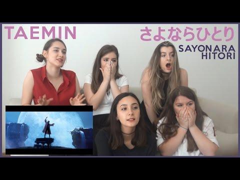 TAEMIN - さよならひとり MV REACTION