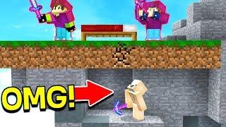 HIDDEN UNDERGROUND MINECRAFT TROLL! (Minecraft Bed Wars)