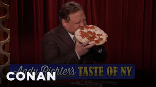 "Andy Richter's ""Taste Of New York""  - CONAN on TBS"