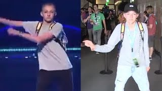 """Backpack Kid Creates NEW Viral Dance Move """"The Money Dance"""""""