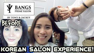 KOREAN SALON EXPERIENCE: Hair Rebonding at Bangs Prime Salon SM MOA