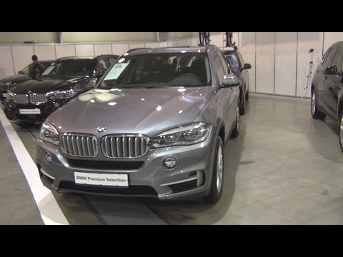 BMW X5 xDrive 40d Space Grey (2015) Exterior and Interior in 3D