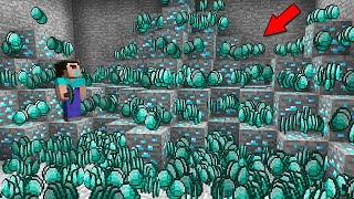 NOOB FOUND THE BIGGEST DIAMOND MINE! Minecraft - NOOB vs PRO