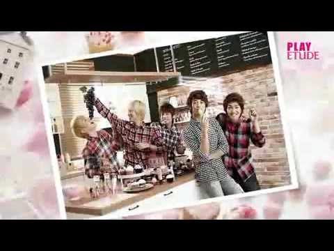 Behind the Scenes with SHINee at Etude House's Photo Shoot