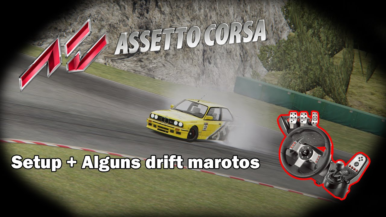 Assetto Corsa How To Setup Best Force Feedback FFB Drifting