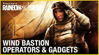 Rainbow Six Siege - Wind Bastion Operators Gameplay