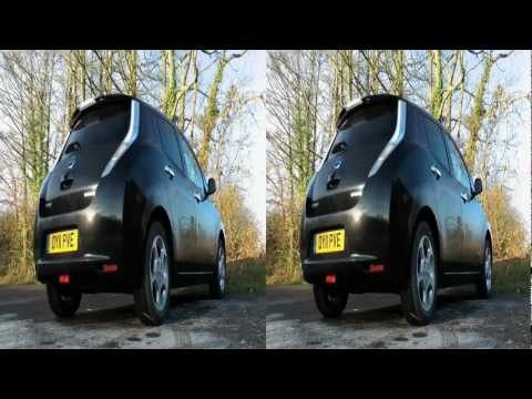 Nissan LEAF Review 3D