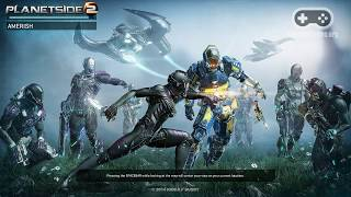Геймплей онлайн игры PlanetSide 2 (Full HD, Ultra Graphics)