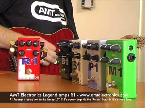 AMT Electronics: R1 preamp - to amp's power amp