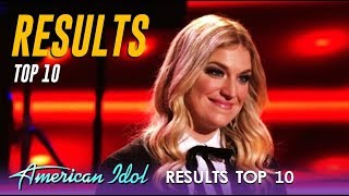 THE RESULTS: Did Your Favorite Make It Into The TOP 10? | American Idol 2019