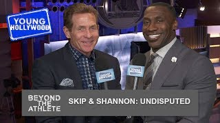 Undisputed Set Visit With Skip Bayless & Shannon Sharpe!
