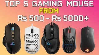 TOP 5 GAMING MOUSE 2020 | Which one to buy [ Hindi ]