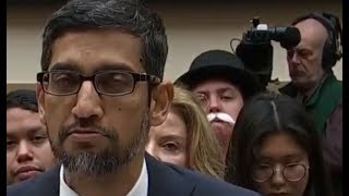 SPOTTED: Monopoly Man Crashes #Google U.S. House Hearing