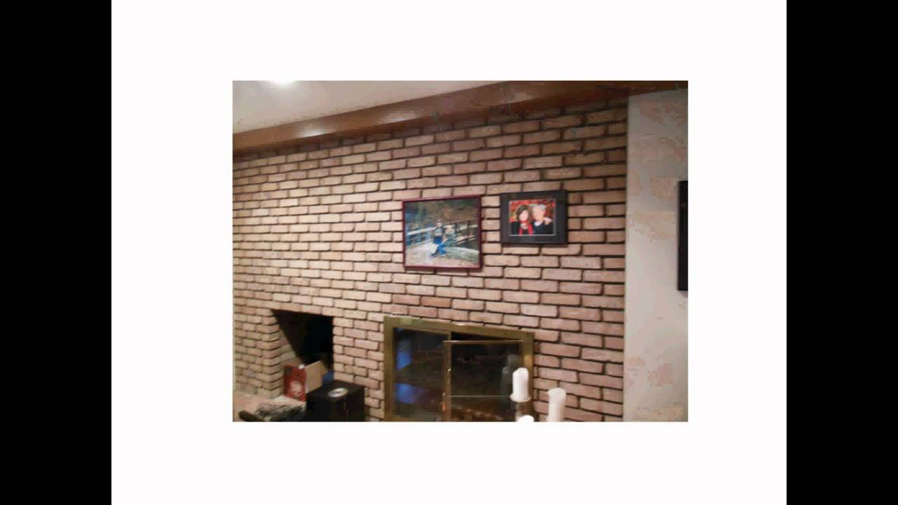 How To Hang Stuff Easily On A Brick Wall Or Fireplace