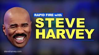 /rapid fire with steve harvey miss universe flub approaching the mirror after a shower and more