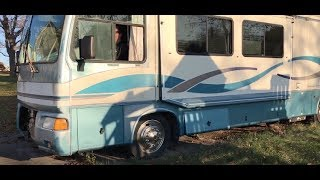 Diesel Motorhome Cold Start after Sitting for Years