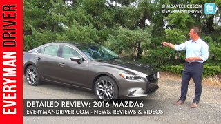 2016 Mazda6 Review on Everyman Driver