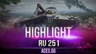 Когда очень хочется, и RU 251 тащит