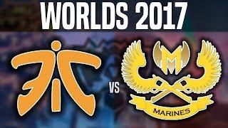 FNC vs GAM (Insane Game!) - Worlds 2017 Group Stage Day 1 - Fnatic vs Gigabyte Marines | Worlds 2017