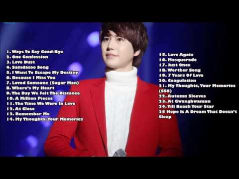 KYUHYUN (Super Junior) Selección De Canciones (Best Songs)