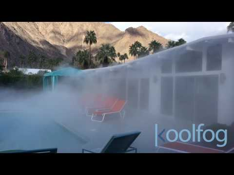 Misting While Cooler