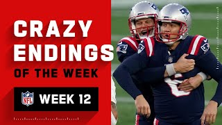 Crazy Endings from Week 12 | NFL 2020 Highlights