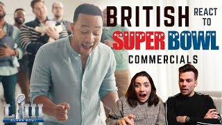 BRITISH PEOPLE REACT TO SUPER BOWL COMMERCIALS 🏈
