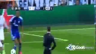 اهداف مباراة ريال مدريد وشالكة 3 4 دوري ابطال اوروبا 2015 عصام الشوالي HD