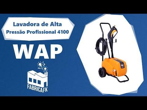 Lavadora De Alta Pressão Profissional 1650Psi 4100 Wap -127V - Vídeo explicativo