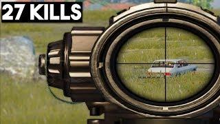 IF YOU LOVE M24 WATCH THIS! | 27 KILLS Solo vs Squad | PUBG Mobile