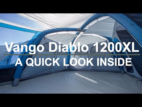 video The Vango Diablo – A pod style tent ideal for larger families