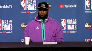 LeBron James Postgame interview | NBA Finals Game 3