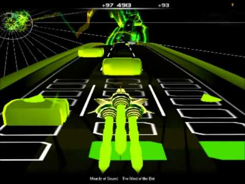 Audiosurf: The Mind of The Bat - Miracle Of Sound