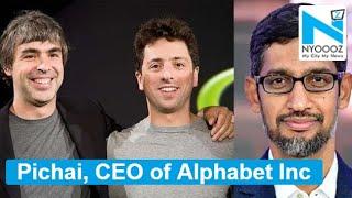Google founders step aside, Sundar Pichai takes over Alpha..