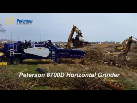 Peterson 6700D Land Clearing