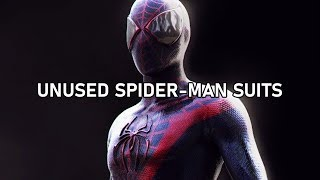Spider-Man Suits That Never Made It (Volume 5) #SaveSpiderMan