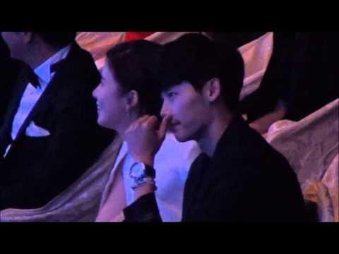 Lee Bo Young - Lee Jong Suk fancam KDA 02.10.13
