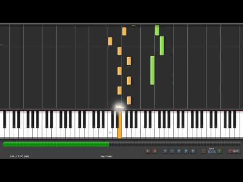 Synthesia Piano 白安-是什麼讓我遇見這樣的你 鋼琴版