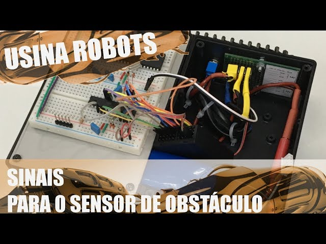 GERANDO OS SINAIS PARA O SENSOR DE OBSTÁCULO | Usina Robots US-2 #049