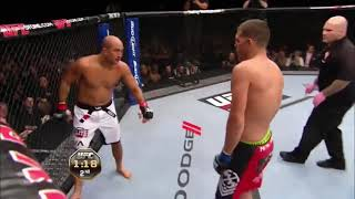Nick Diaz vs BJ Penn - Highlights (Diaz dominates Penn)