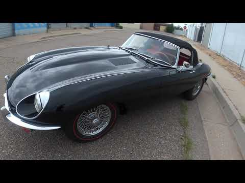 video 1969 Jaguar XKE Series II OTS Roadster