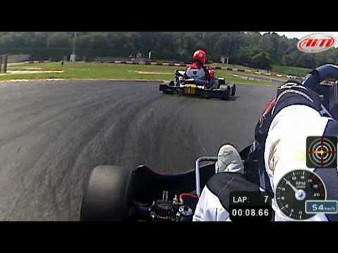 Schumacher vs Liuzzi Smartycam karting