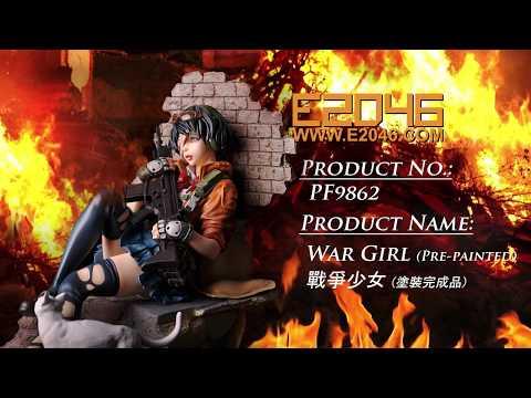 PF9862 战争少女 色版预览