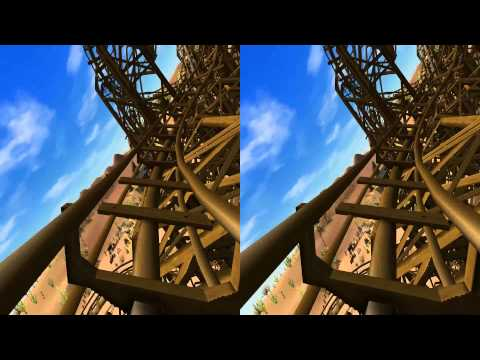 3D - VR/Active/Passive - Old Mine Roller Coaster