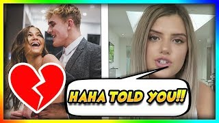 Alissa Violet Reacts to Jake Paul Cheating on Erika Costell!!