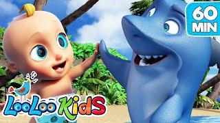 Baby Shark - Best Dance Song for KIDS | LooLoo Kids