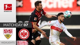VfB Stuttgart - Eintracht Frankfurt   2-2   Highlights   Matchday 7 – Bundesliga 2020/21